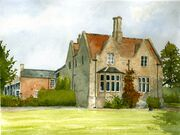Lincolnshire House in Watercolour
