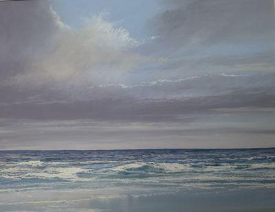 evening at the beach, portballintrae