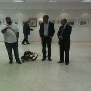The Mayor of Beit Jala on opening night.