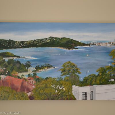 view of Balmoral Bay Sydney