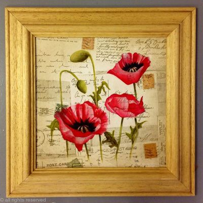POPPIES AND LETTERS HOME