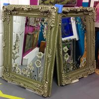Large Handpainted Mirrors