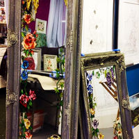 Handpainted Mirrors