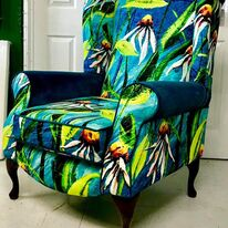 WINGBACK CHAIR (LJK01)