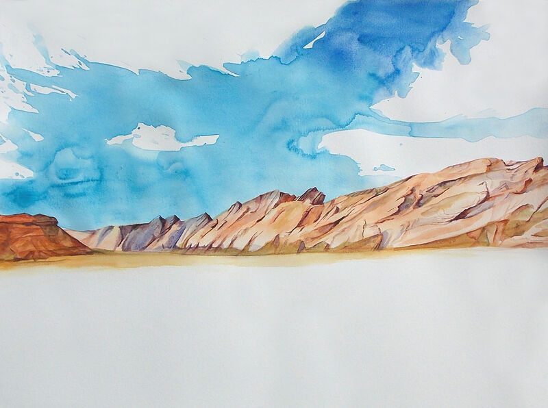 Utah Bursting Mountains