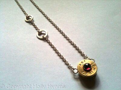 jewel ammunition necklace