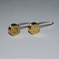 jewel ammunition earrings