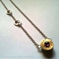 jewel ammunition necklace