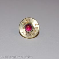 jewel ammunition pin brooch