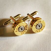 jewel ammunition cufflinks