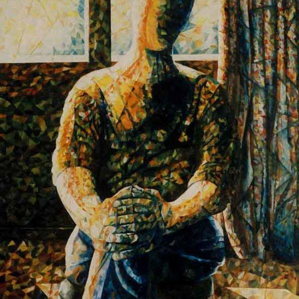 Contemplating Man