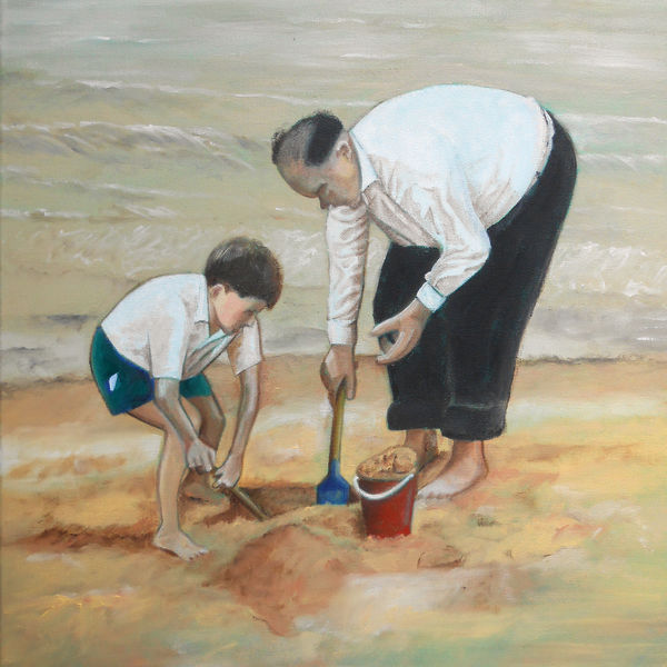 Digging with Grandad