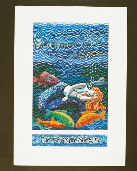 The Mermaid Sleeps