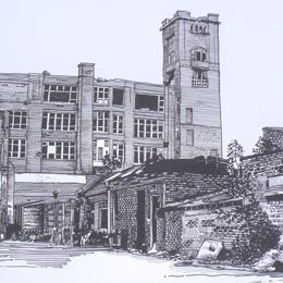 Mill on corner of Butler and Mellor Street