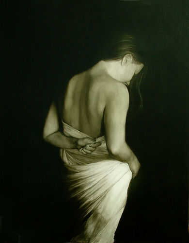 Draped Series - Back View