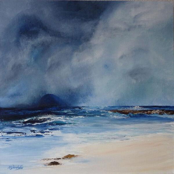 Storm over Ailsa Craig
