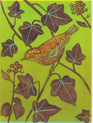 Finch and Ivy ( green)