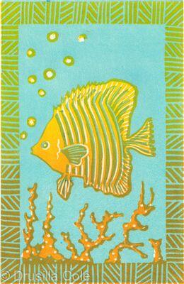 Angel Fish ( blue)