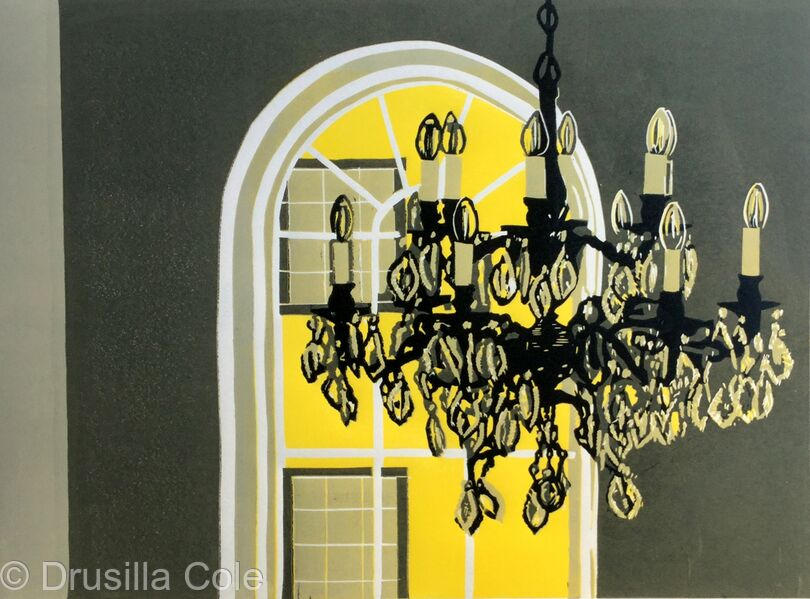 Chandelier at Bank House