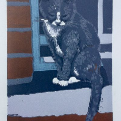 Cat on a Sill