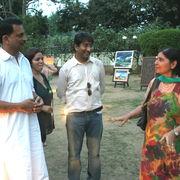 With Rudy Pratap Singh