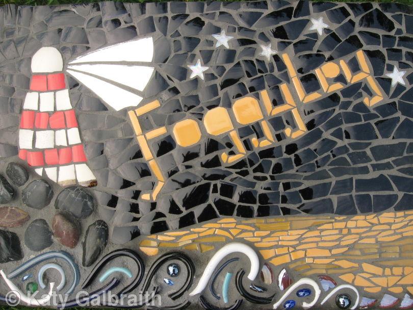 Foggylea House sign