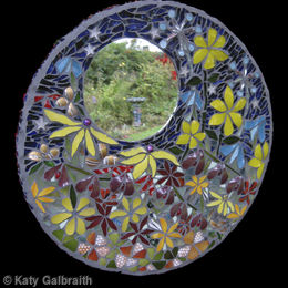 Midnight Garden Mirror