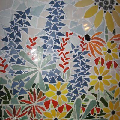 Tiled Kitchen Mosaic