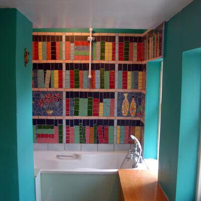 Garden Flat bathroom