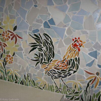 Strutting Chicken