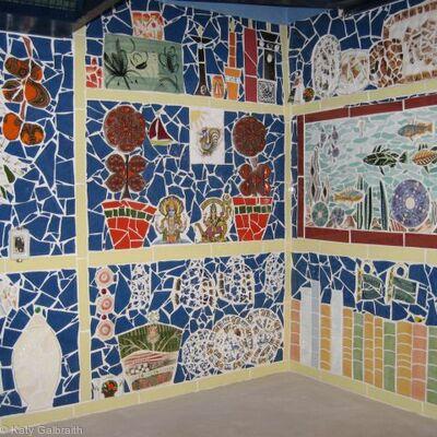 Galvelmore Kitchen mosaic
