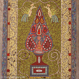 Tree of Life Persian Carpet