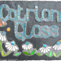 Catriona Glass Studio Sign