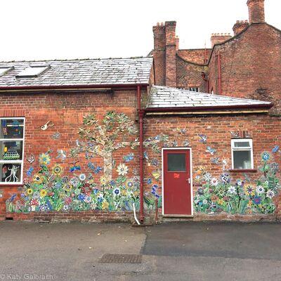 School Wall Mosaic