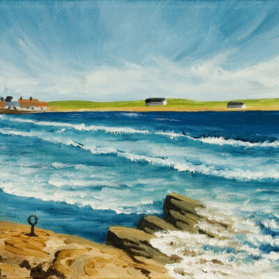 Rocky Seascape, Elie
