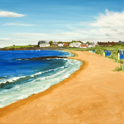 Beach Huts, Earlsferry