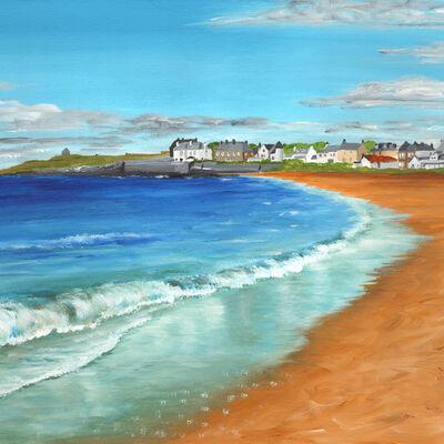Earlsferry from Elie Beach
