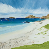 Blue Seas, White Sand, Iona