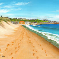 East Beach Footprints, Lossiemouth