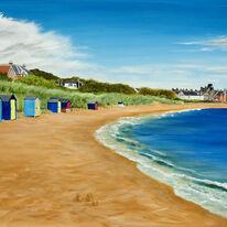 Beach Huts, Elie