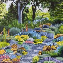 A walk in the rockery