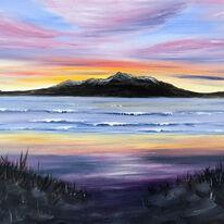 Arran sunset from Ayr