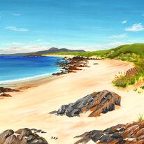 Rocks on Calva Beach, Iona