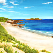 Sandy Beach Calva, Iona