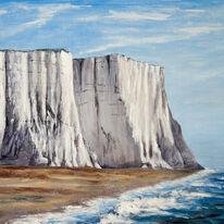 White Cliffs at Cuckmere Haven