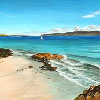Rocks and Waves, Iona