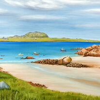 Iona from Fionnphort