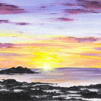 Calva Sunset, Iona
