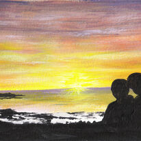 Watching the Sunset, Iona