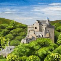 Castle Campbell, Dollar, in Summer Green